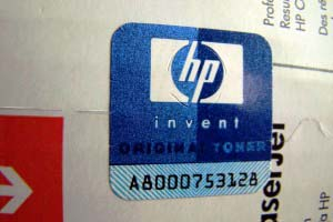 HP label